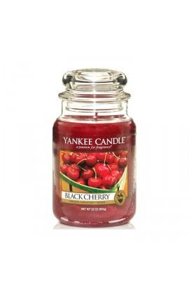 Yankee Black Cherry nagy üveggyertya
