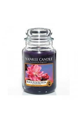 Black Plum Blossom nagy üveggyertya