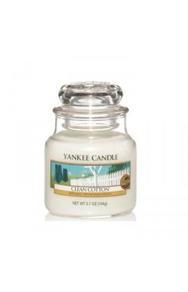 Yankee Clean Cotton® kis üveggyertya