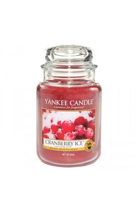 Yankee Cranberry Ice nagy üveggyertya