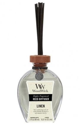WoodWick Linen illat diffúzor