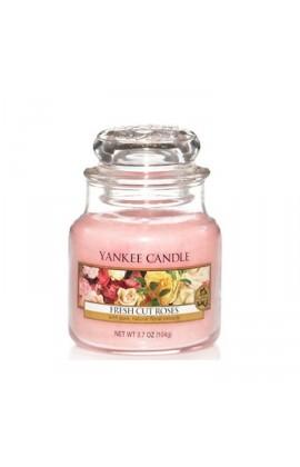 Yankee Fresh Cut Roses kis üveggyertya