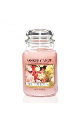 Yankee Fresh Cut Roses nagy üveggyertya