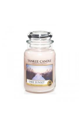 Lake Sunset nagy üveggyertya