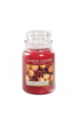 Yankee Mandarin Cranberry nagy üveggyertya