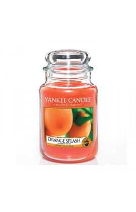 Yankee Orange Splash nagy üveggyertya