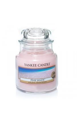 Yankee Pink Sands közepes üveggyertya