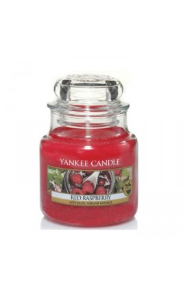 Yankee Red Raspberry kis üveggyertya