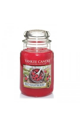 Yankee Red Raspberry nagy üveggyertya