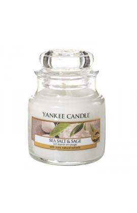 Yankee Sea Salt & Sage kis üveggyertya