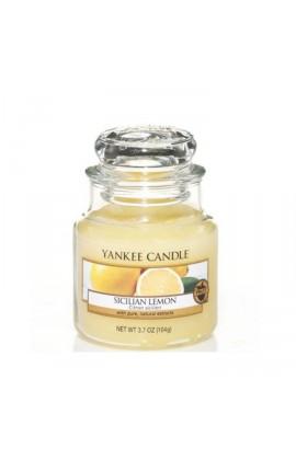 Yankee Sicilian Lemon kis üveggyertya