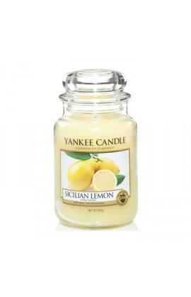 Yankee Sicilian Lemon nagy üveggyertya