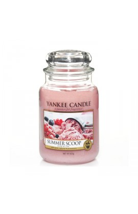 Yankee Summer Scoop nagy üveggyertya