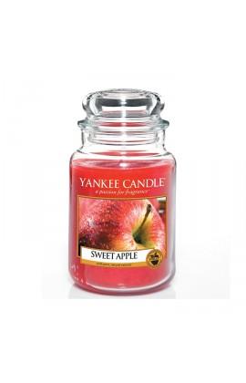 Yankee Sweet Apple nagy üveggyertya