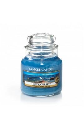Yankee Turquoise Sky kis üveggyertya
