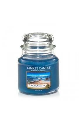 Yankee Turquoise Sky közepes üveggyertya