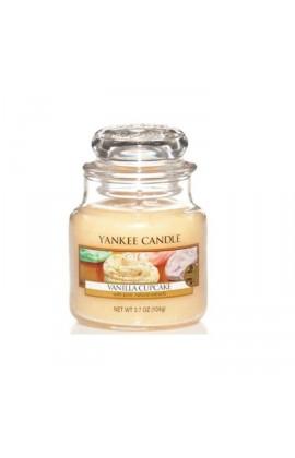 Yankee Vanilla Cupcake kis üveggyertya