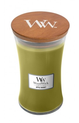 WoodWick Apple Basket nagy illatgyertya