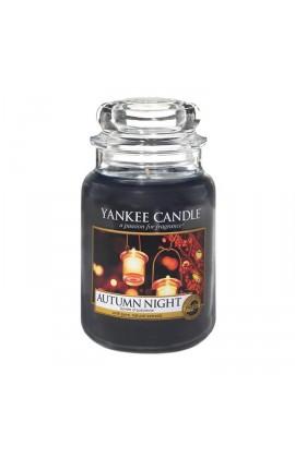Yankee Autumn night nagy üveggyertya