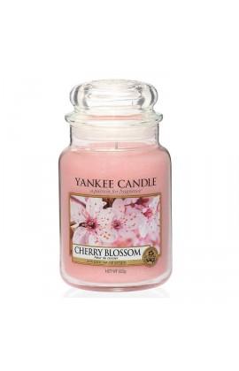 Yankee Cherry Blossom nagy üveggyertya