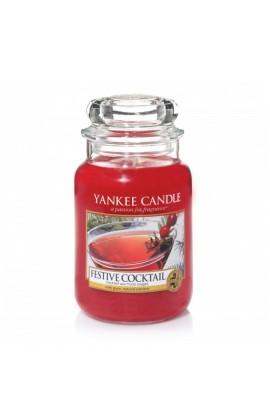 Yankee Festive cocktail nagy üveggyertya