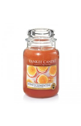 Yankee Honey clementine nagy üveggyertya