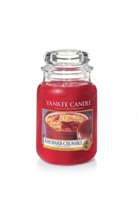 Yankee Rhubarb crumble nagy üveggyertya