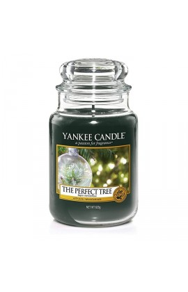 Yankee The perfect tree nagy üveggyertya